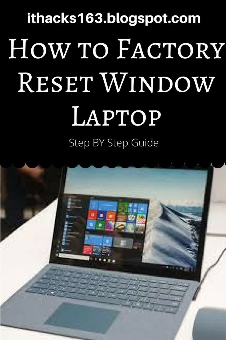 How to factory reset Window laptop.. #hacks #howto #stepbystep #windows #mac #reset #fix #blog