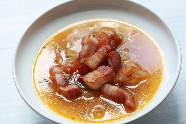 Manhattenská rybí polévka  http://www.veseleboruvky.cz/2012/09/manhattenska-rybi-polevka.html