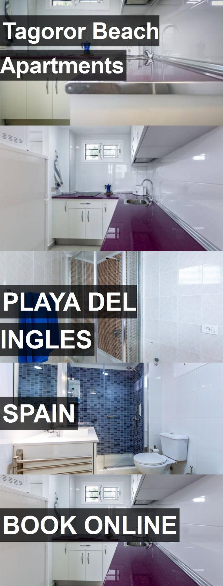 Tagoror Beach Apartments in Playa del Ingles, Spain. For more information, photos, reviews and best prices please follow the link. #Spain #PlayadelIngles #travel #vacation #apartment