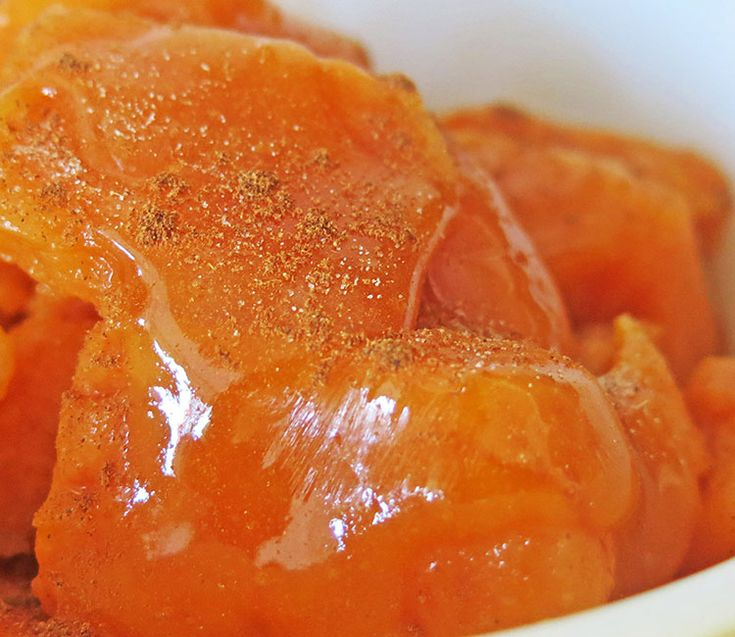Quick Candied Yams