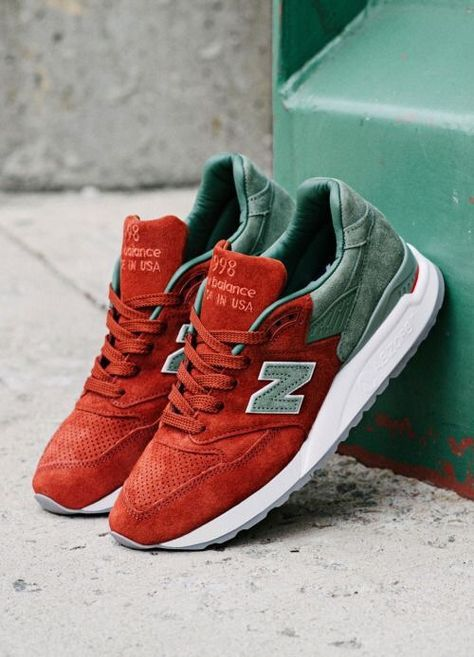 d2911e652b14 New Balance NB998 Made in USA Collection (red green)  sneakers  sneakernews