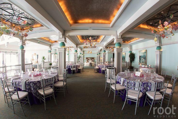 Wedding Reception At Disney S Beach Club At Ariel S