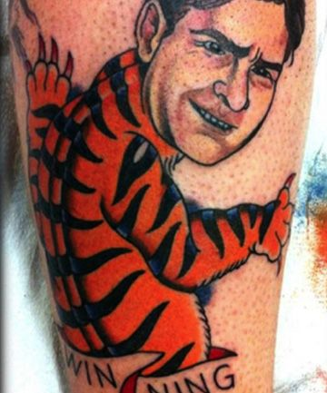 63 best winning images on pinterest funny photos for Are tattoos bad for your blood