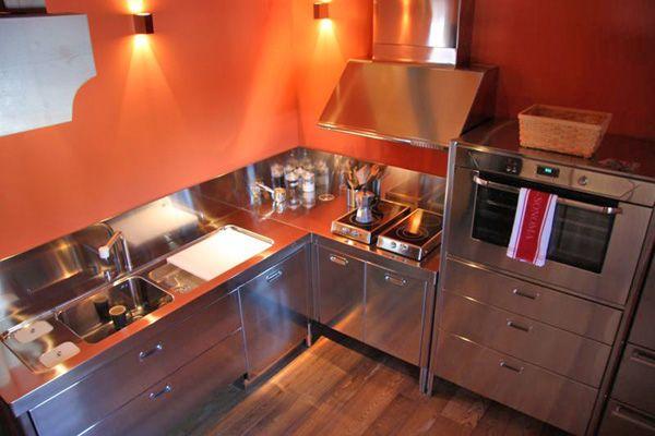 Cucine free standing cucina n da alpes inox interior - Ikea cucine free standing ...