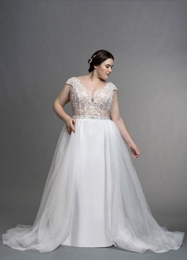 778ba3ab7611 Azazie Bambi BG Plus Size Brides, Plus Size Wedding Gowns, Red Wedding  Dresses,