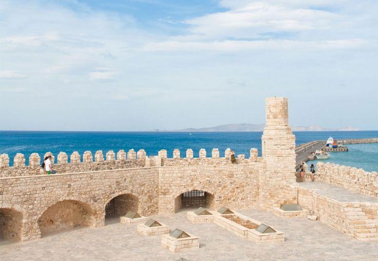 Inside the Koules fortress of Heraklion. Read more at: http://goo.gl/rBVVfU #Koules #Discover_Crete  #Crete #fortress #GalaxyHotelIraklio #lifeincrete