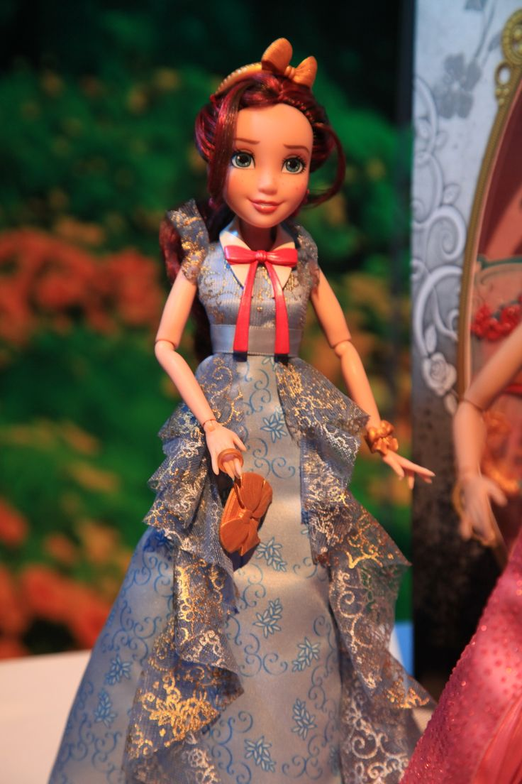 Disney Descendants Jane, daughter of the Fairy Godmother, in her coronation dress doll by Hasbro, 2015