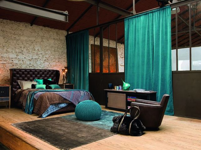 verri re int rieure la cloison transparente qui a tout pour plaire bedroom loft bedrooms and. Black Bedroom Furniture Sets. Home Design Ideas