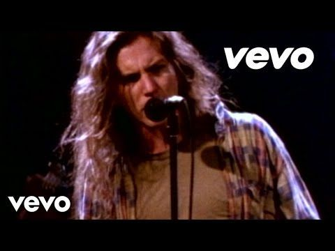 Pearl Jam - Even Flow - I love Pearl Jam and this is one of my favorites to jam too on my period playlist :P