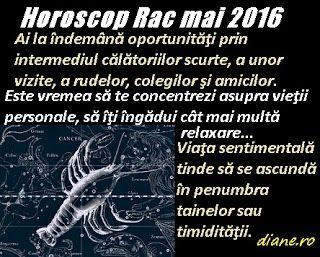 diane.ro: Horoscop Rac mai 2016