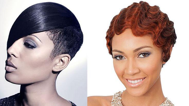 Beste 10 Afroamerikaner kurze Frisuren für dünnes Haar 2020