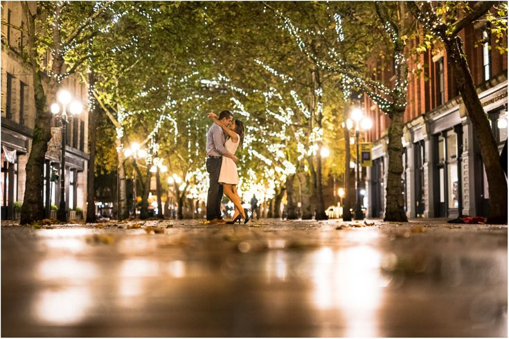 pioneer square engagement photos - Google Search