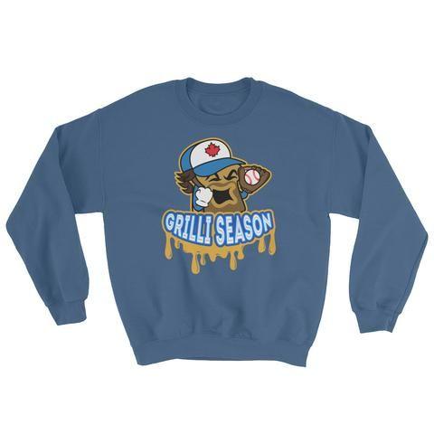 Jason Grilli Sweatshirt - Indigo Blue