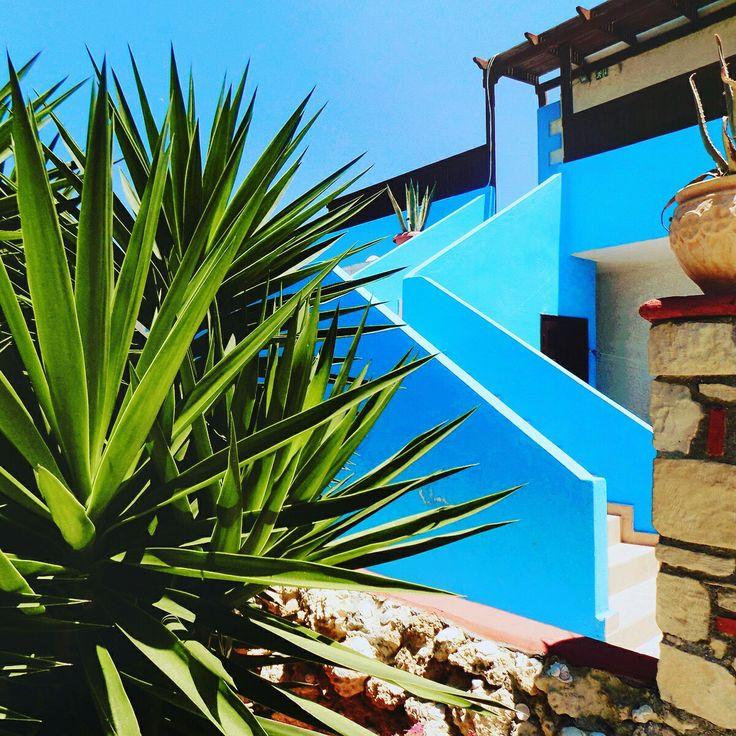 #greece #bluelagoon#traditional#blue