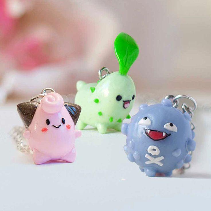 Pokemon Necklaces #pokemon #pokemongo #kawaii #necklace #jewelry #anime #necklaces #merch #merchandise #shutupandtakemyyen #pokemonmerch #pokemonmerchandise #animemerch #animemerchandise