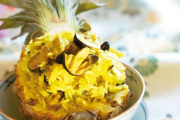 Asiatische Salatdressingsonnenuntergangzeitschrift des Rezeptes