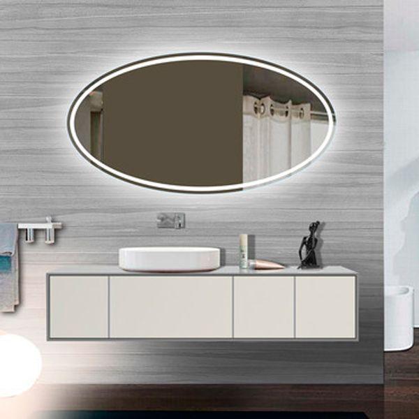 Oval Tokyo Illuminated Led Bathroom Mirror Led Mirror Bathroom Bathroom Mirror Illuminated Mirrors