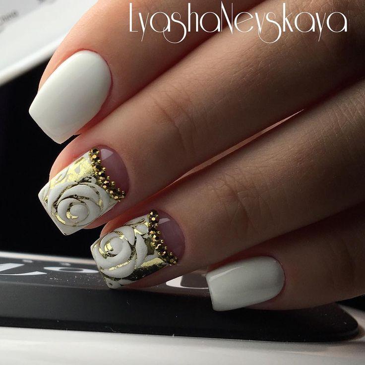 #nails #nailart #instagood #instanails #beautynails #nailpolish #shellacnails…