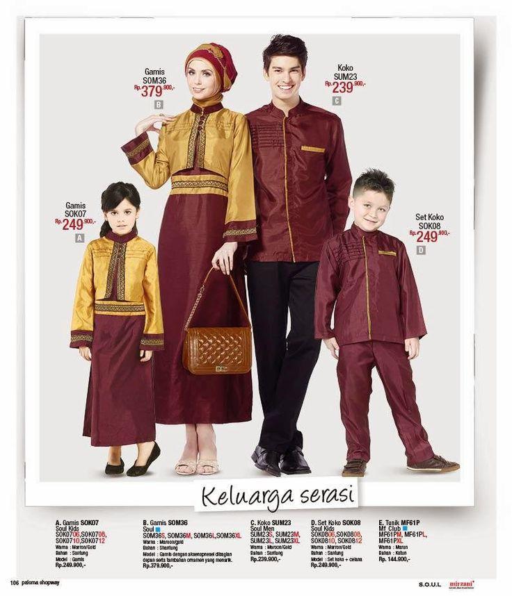 Butik Jeng Ita - Produk Busana dan Fashion Cantik Terbaru: Gamis Lebaran Keluarga