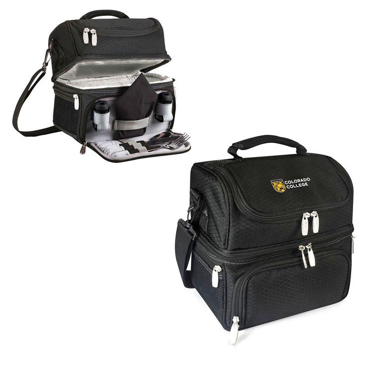 Colorado College Tigers Pranzo Lunch Tote - Black - $56.99