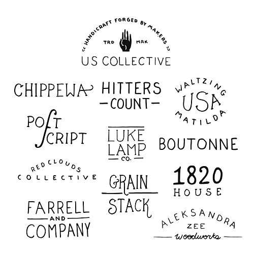 theuscollective:: Logo, Graphic, Batch, Cloud, Typography, Cool Stuff