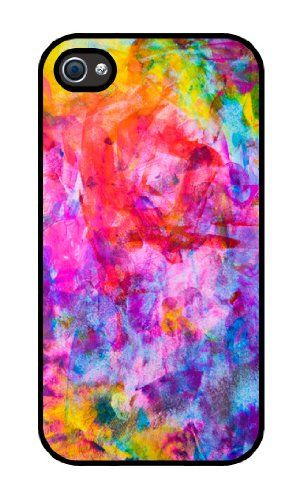 Amazon.com: Colorful rubber iphone 4 case-Fits iphone 4 and iphone 4s: Cell Phones & Accessories