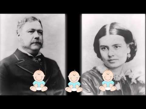 chester arthur and wife ellen arthur