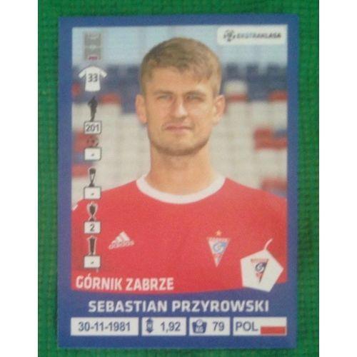 Football Soccer Sticker Panini Polska Ekstraklasa 2016 #64 Gornik Zabrze #gtogtoneed