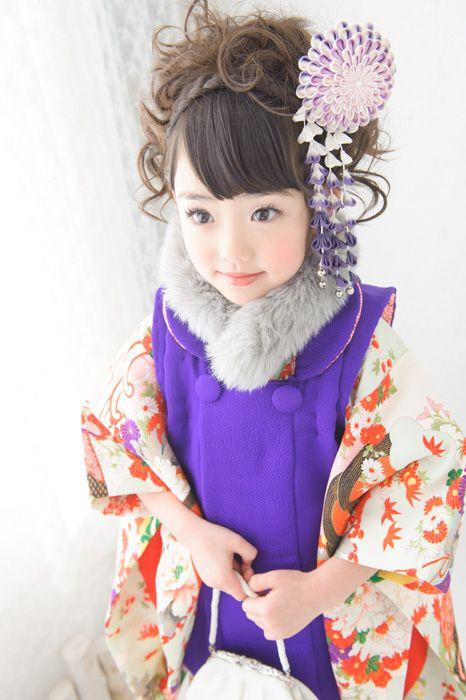 3-30レトロ|七五三レンタル衣装 3歳女児 - キモノガール
