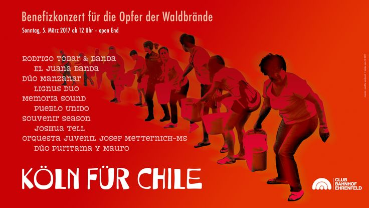 Köln hilft Chile: Programa Musical