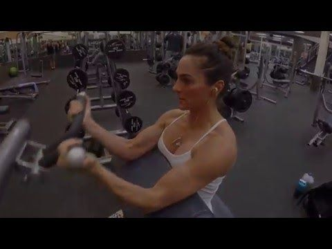 8 Week Body Transformation: Day 12 Back and Biceps - Fitness Food Diva