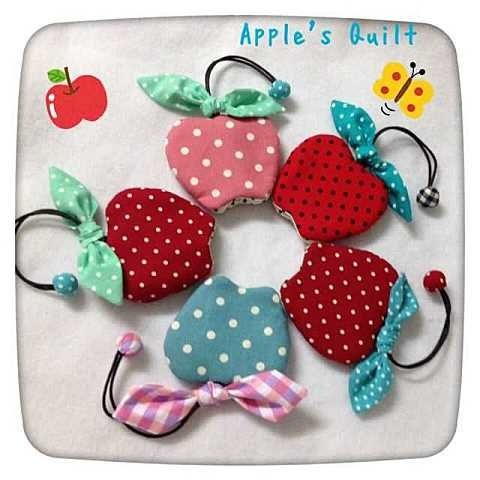 Chaveiros maçã