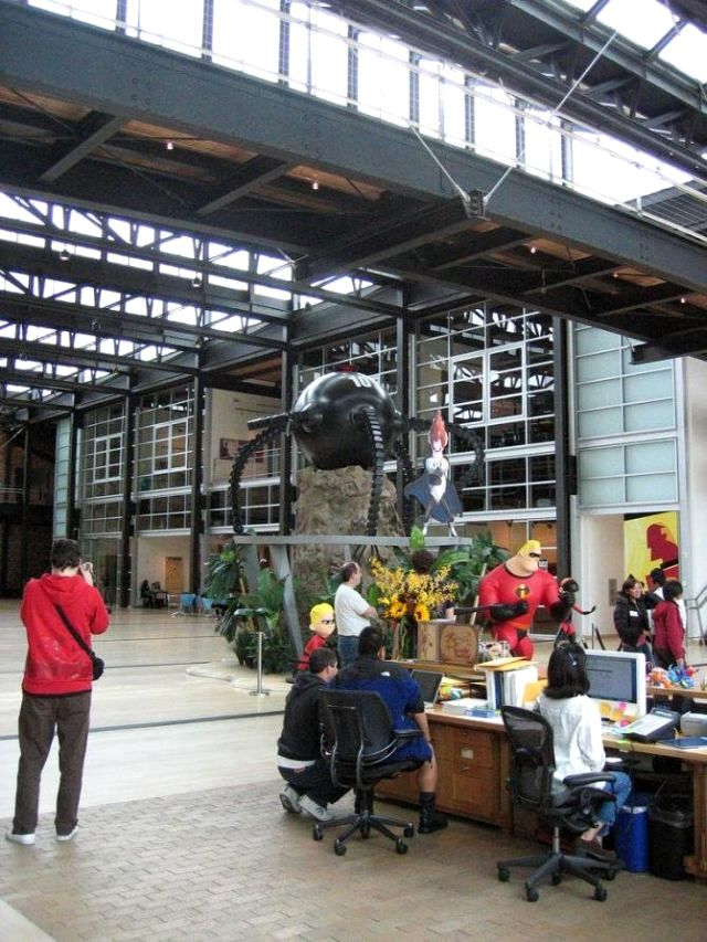 #Pixar #Offices