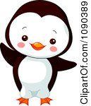Cute Baby Zoo Penguin Dancing