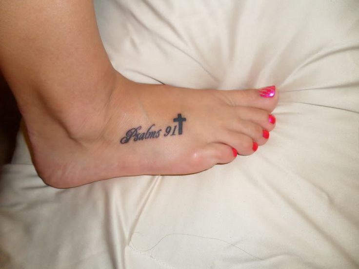 Psalm 91 Tattoo Designs For Men: Top Psalm 91 Tattoo Images For Pinterest Tattoos
