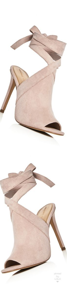 KENDALL and KYLIE Evelyn Ankle Tie High Heel Sandals