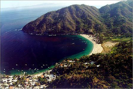Yelapa, Mexico.  A little fishing village outside of Puerto Vallarta.  One of the coolest places I've ever been! Love!!