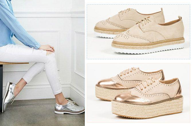 Άνετα και stylish τα oxfords είναι must της γυναικείας γκαρνταρόμπας. Προτάσεις για την Άνοιξη από τα Shoes Mega Stores στις καλύτερες τιμές!