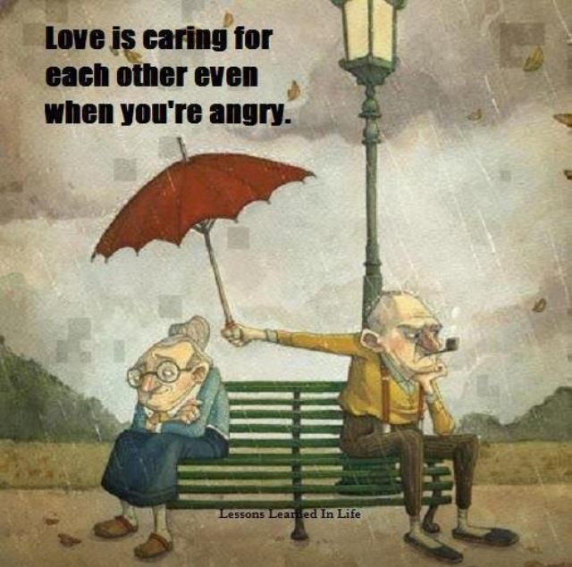Love is caring...