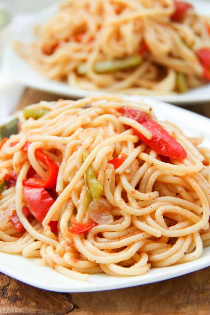One Pot Fajita Pasta from The Dreaming Foodie