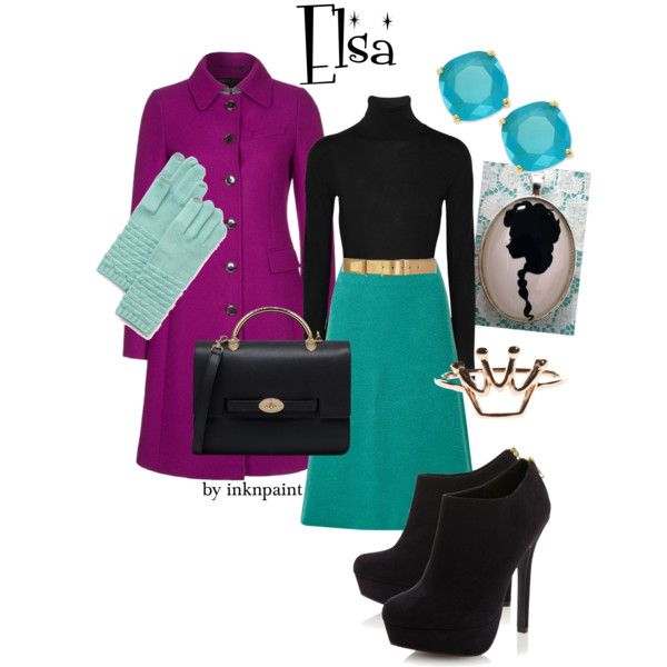 Elsa's coronation outfit. Minus the shoes for me though. I don't do high heels.