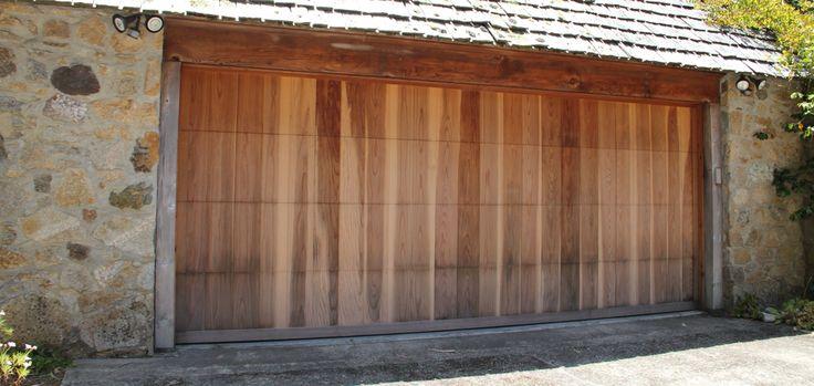 36 best wood garage doors images on pinterest wooden for Aaron garage door repair