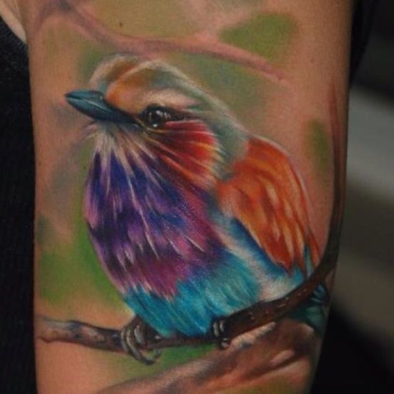 100 Watercolor Tattoos That Perfectly Replicate The Medium: 25+ Best Ideas About Watercolor Bird Tattoos On Pinterest
