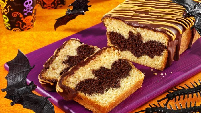Look at this recipe - Surprise Batty Loaf Cake -  and other tasty dishes on Food Network.