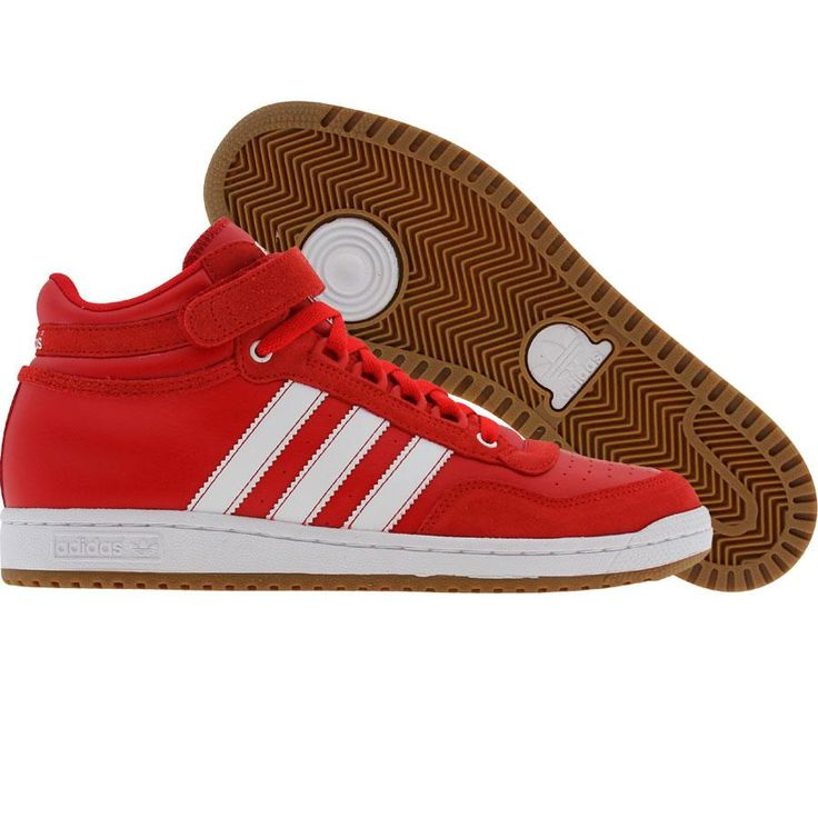 Adidas Concord Mid (lgt scarlet / runninwhite) Shoes G48627 | PickYourShoes.com