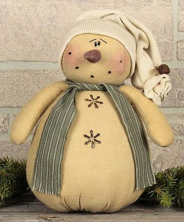 Look at this #zulilyfind! Nippy Snowman Figurine #zulilyfinds