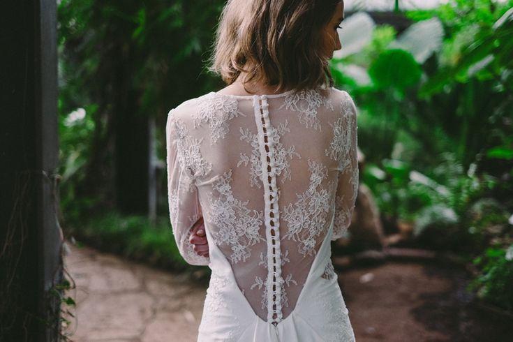 Robe de mariee Lyon Caroline Takvorian robe Juliette dos dentelle l ...
