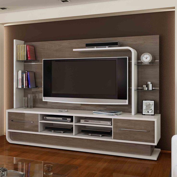 Para deixar as coisas da sala de estar no lugar e ainda garantir uma visão privilegiada da TV, o home é essencial.