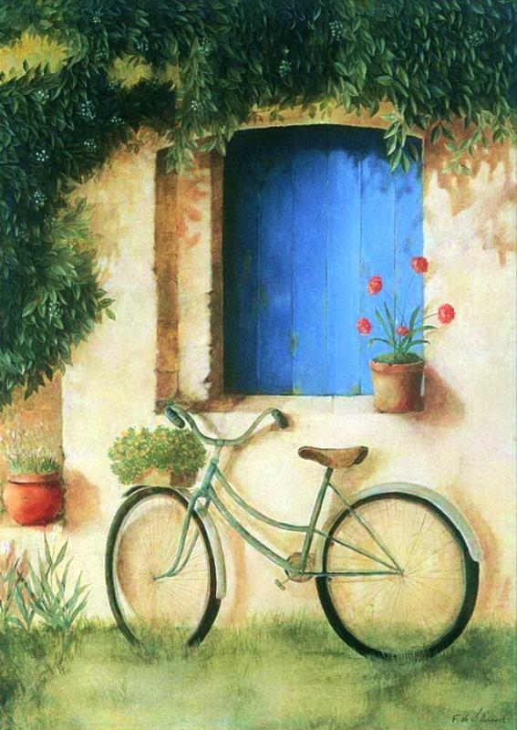 *bike na janela