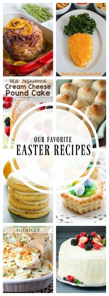 EASTER RECIPES - A Dash of Sanity - http://www.adashofsanity.com/2017/03/easter-recipes/